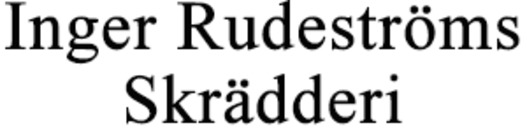 Inger Rudeströms Skrädderi logo