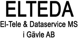 El-Tele & Dataservice MS i Gävle AB, ELTEDA logo