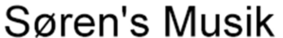 Søren's Musik logo