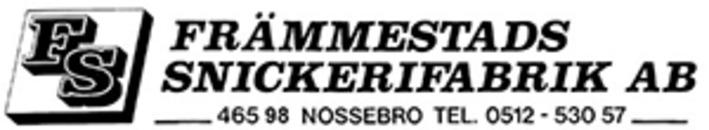 Främmestads Snickerifabrik AB logo