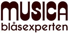 Musica Blåsexperten logo
