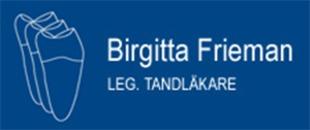 Tandläkare Birgitta Frieman logo