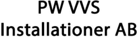 PW VVS Installationer AB logo