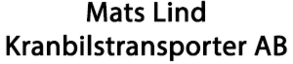 Mats Lind Kranbilstransporter AB logo
