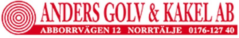 Anders Golv & Kakel AB logo
