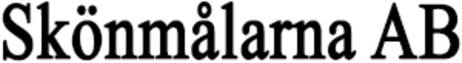 Skönmålarna AB logo