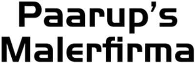 Paarup's Malerfirma logo