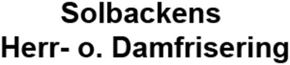 Solbackens Herr- o. Damfrisering logo