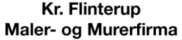 Kr. Flinterup Maler- og Murerfirma logo