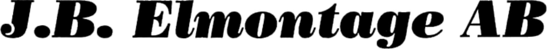 J. B. Elmontage AB logo