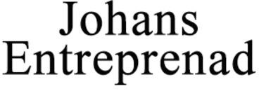 Johans Entreprenad logo