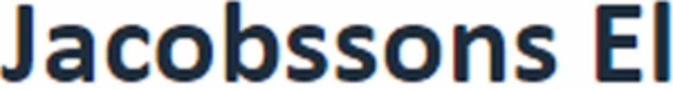 Jacobssons El logo