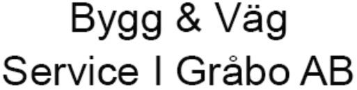 Bygg & Väg Service I Gråbo AB logo