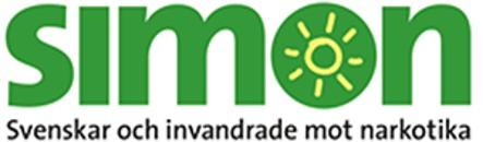 SIMON, Svenskar och Invandrade Mot Narkotika logo