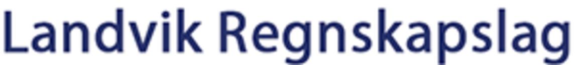 Landvik Regnskapslag logo