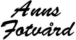 Anns Fotvård logo