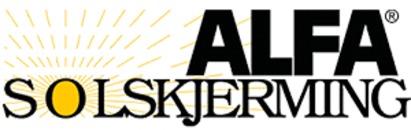 ALFA Solskjerming logo