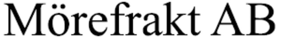 Mörefrakt AB logo
