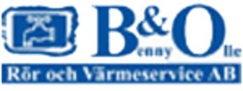 B & O Rör och Värmeservice AB logo