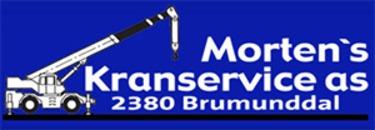 Morten's Kranservice logo