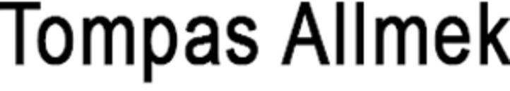 Tompas Allmek logo