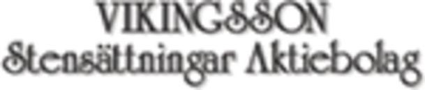 Vikingsson Stensättningar AB logo