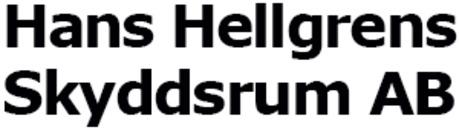 Hans Hellgrens Skyddsrum AB logo