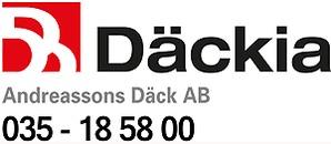 Däckia Halmstad Väst / Andreassons Däck AB logo