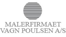 Malerfirmaet Vagn Poulsen A/S logo