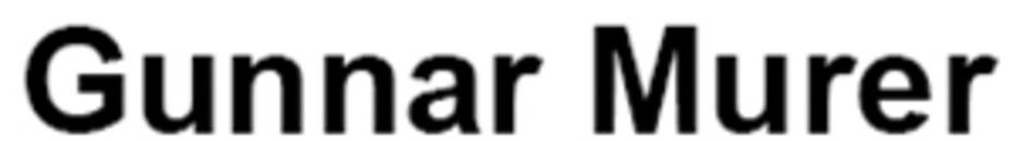Gunnar Murer logo