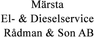 Märsta El- & Dieselservice Rådman & Son AB logo