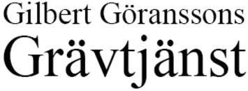 Gilbert Göranssons Gräv Till Bygg logo