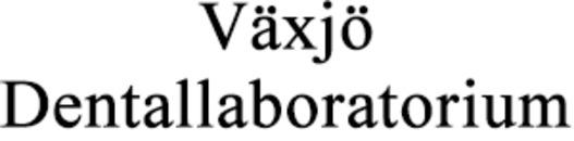 Växjö Dentallaboratorium AB logo