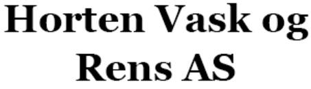 Horten Vask og Rens AS logo