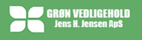 Jens H. Jensen ApS Grøn Vedligehold logo