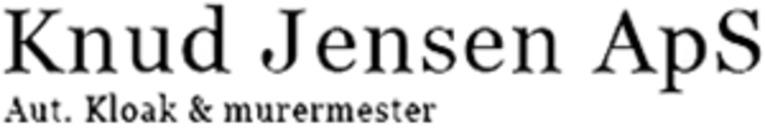 Aut. Kloak- og murermester Knud Jensen, Sundby ApS logo