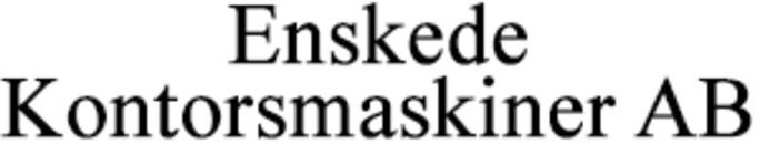 Enskede Kontorsmaskiner AB logo