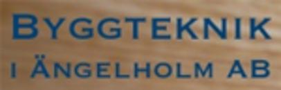 Byggteknik i Ängelholm logo