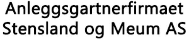 Anleggsgartnerfirmaet Stensland og Meum AS logo