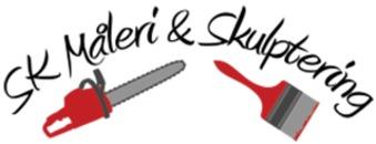 SK Måleri & Skulptering logo