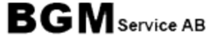 BGM Service AB logo