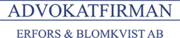 Advokatfirman Erfors & Blomkvist AB logo