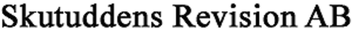 Skutuddens Revision AB logo