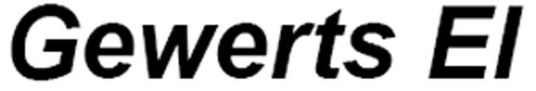 Gewerts El, AB logo