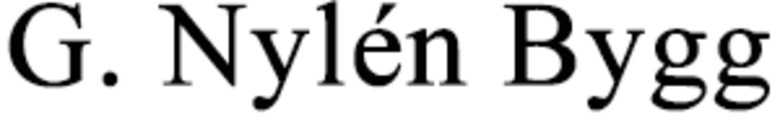G. Nylén Bygg, AB logo