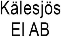 Kälesjös El AB logo