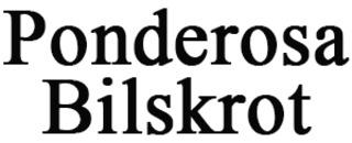 Ponderosa Bilskrot logo