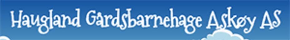 Haugland Gårdsbarnehage Askøy AS logo