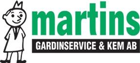 Martins Gardinservice & Kem logo