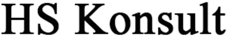 HS Konsult logo